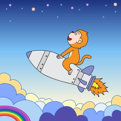 image of flying monkey